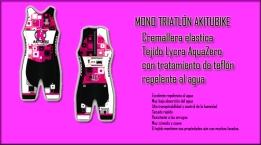 Monos triatlón Akitubike